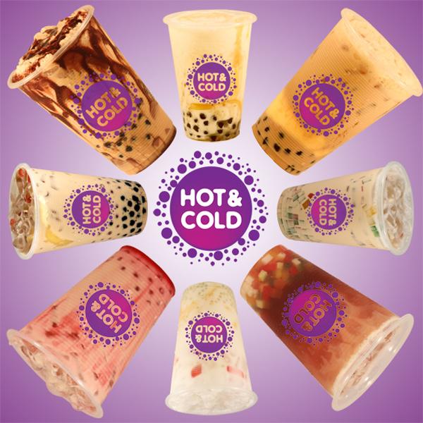 Trà sữa Hot and Cold menu - 1