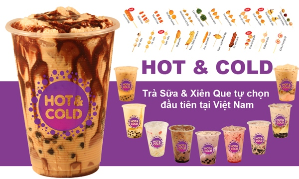 Trà sữa Hot and Cold menu - 2