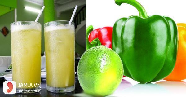 Cách giảm cân bằng nước mía và ớt chuông-2