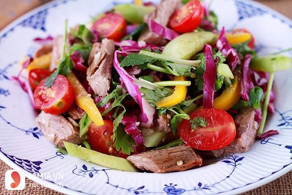 Cách làm salad thịt bò kiểu Thái -1
