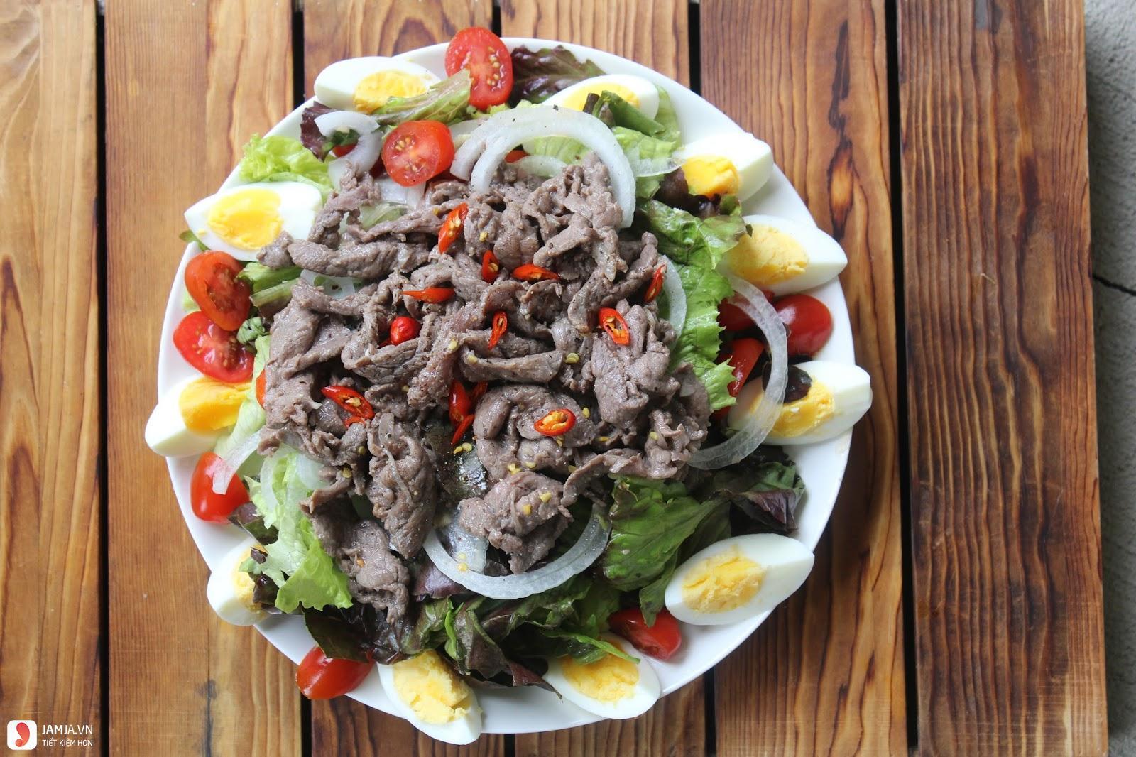 Salad xà lách trộn dầu giấm-3