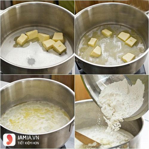 cách làm bánh su kem từ bột mì-2