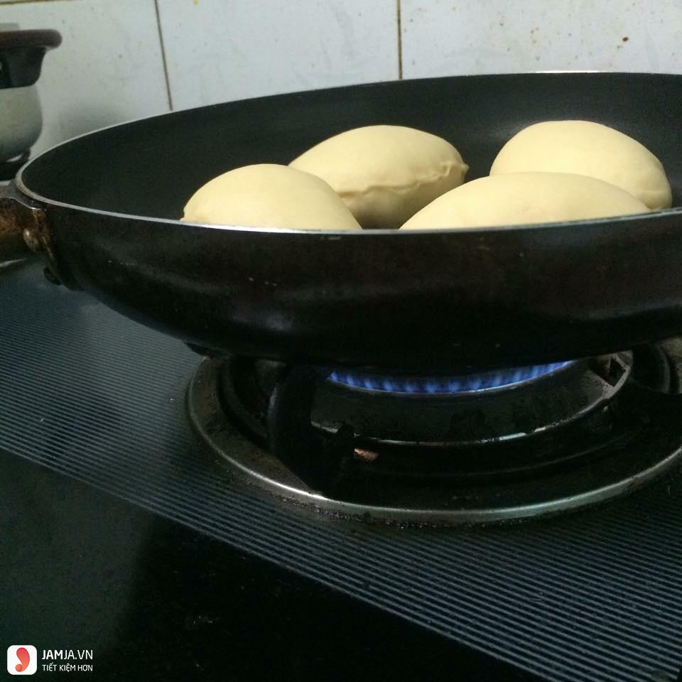 Cách làm bánh bao chay sữa từ bột mì-4
