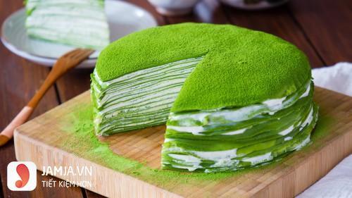 cách làm món bánh crepe matcha từ bột mì-4