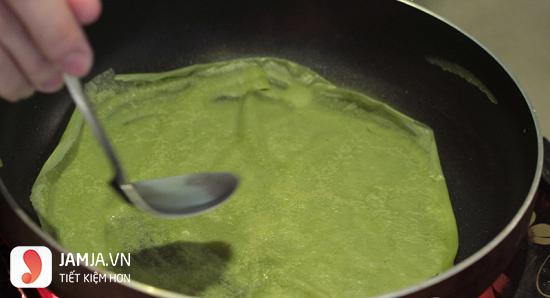 cách làm món bánh crepe matcha từ bột mì-3