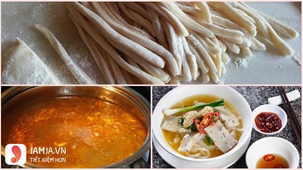 Cách nấu bánh canh chả cá Quy Nhơn-1
