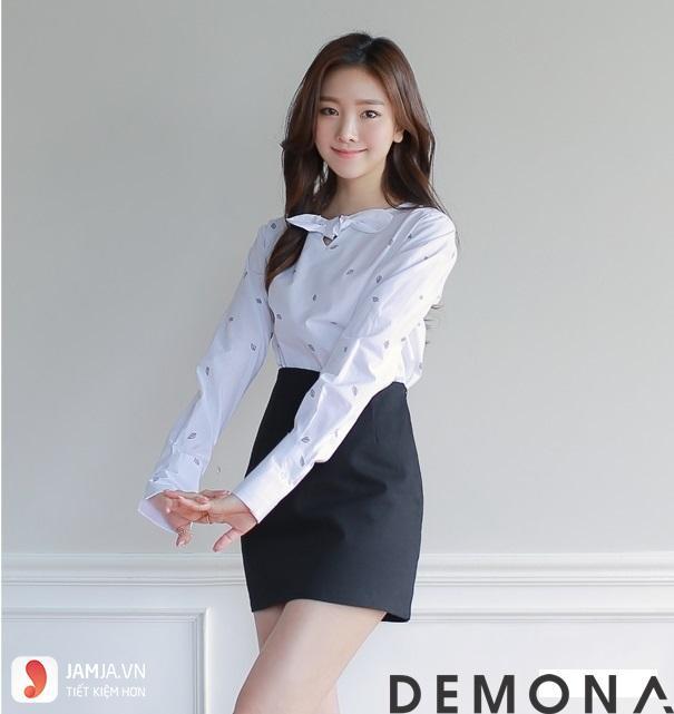 Các kiểu áo sơ mi nữ Hàn Quốc dễ thương3