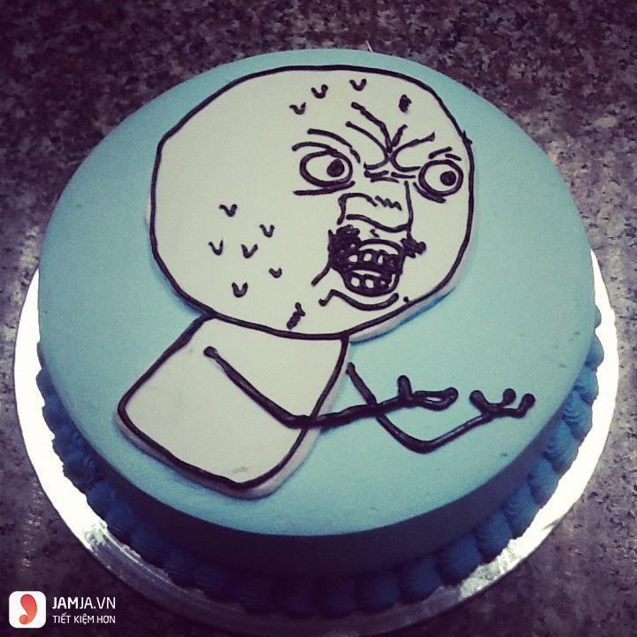 chiếc bánh sinh nhật buồn cười1