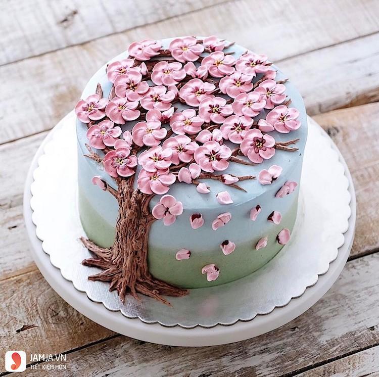 chiếc bánh sinh nhật buồn cười