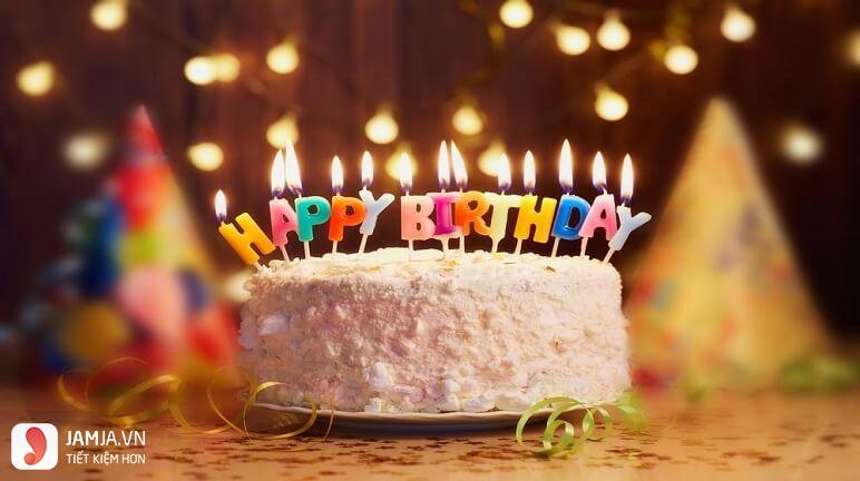 Tại sao bánh sinh nhật có hình tròn