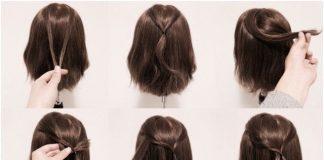 các kiểu tóc buộc ngắn 15