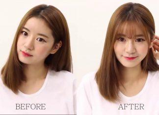 các kiểu tóc mái hợp với khuôn mặt dài 14
