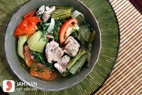 Món ăn ngon cuối tuần dễ làm từ thịt lợn-1