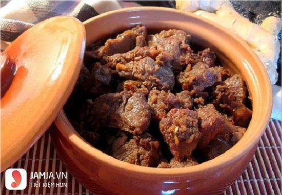 Thịt bò kho tiêu 1