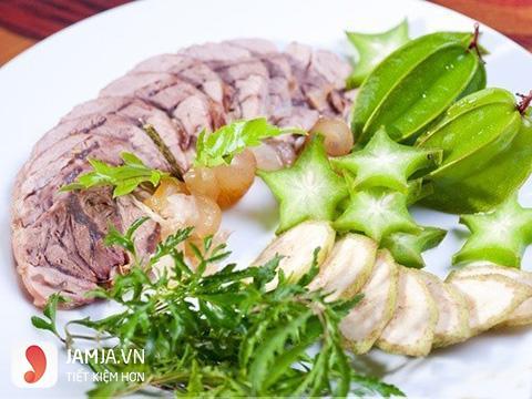 Cách chế biến món thịt bê hấp sả-6