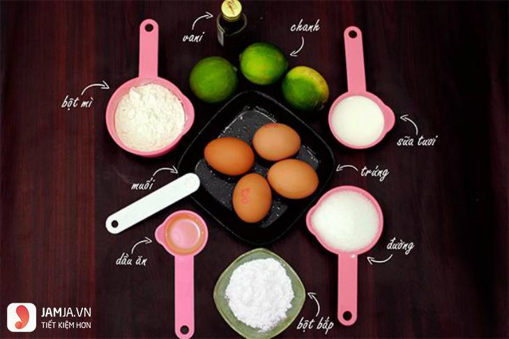 Cách nướng bánh bông lan bằng nồi cơm điện-2
