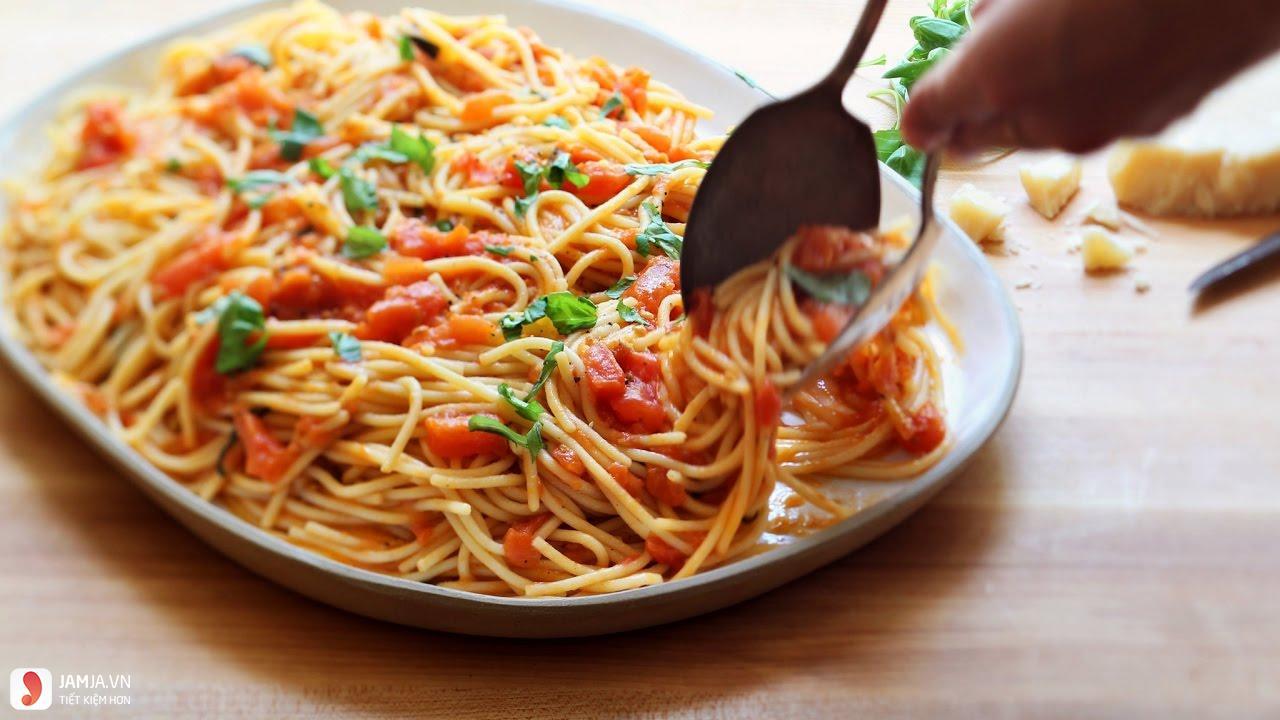 cách làm mì spaghetti sốt thịt bò-6