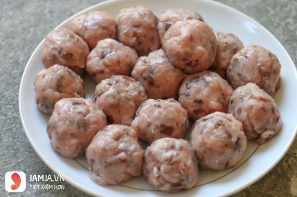 Cách làm mọc thịt với nấm hương-2