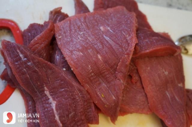 Cách làm thịt trâu khô bằng lò vi sóng-3