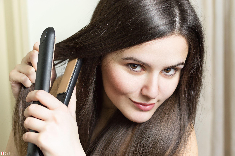 Cách làm tóc thẳng tại nhà - 2