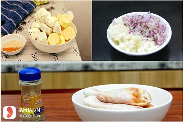 Cách nấu cari vịt nước cốt dừa2