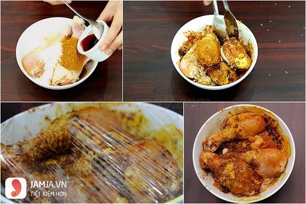 Cách nấu cari vịt nước cốt dừa3