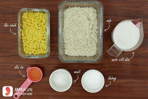 Cách nấu xôi vò miền nam 1