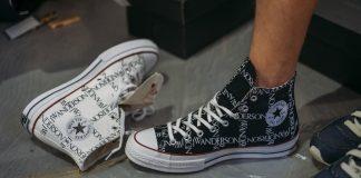cách xỏ dây giày converse