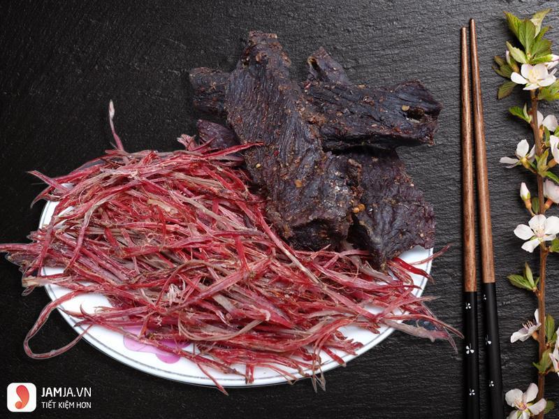 Cách làm thịt trâu khô bằng lò vi sóng -4