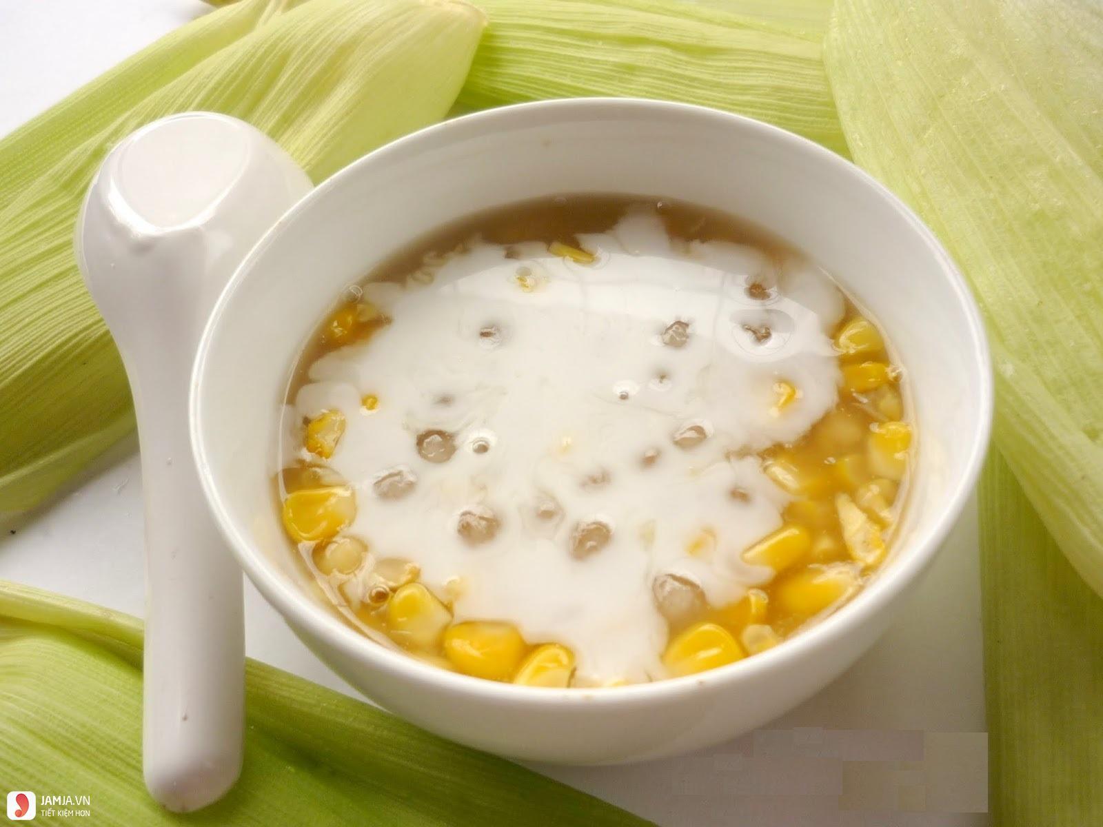 Chè ngô nước cốt dừa