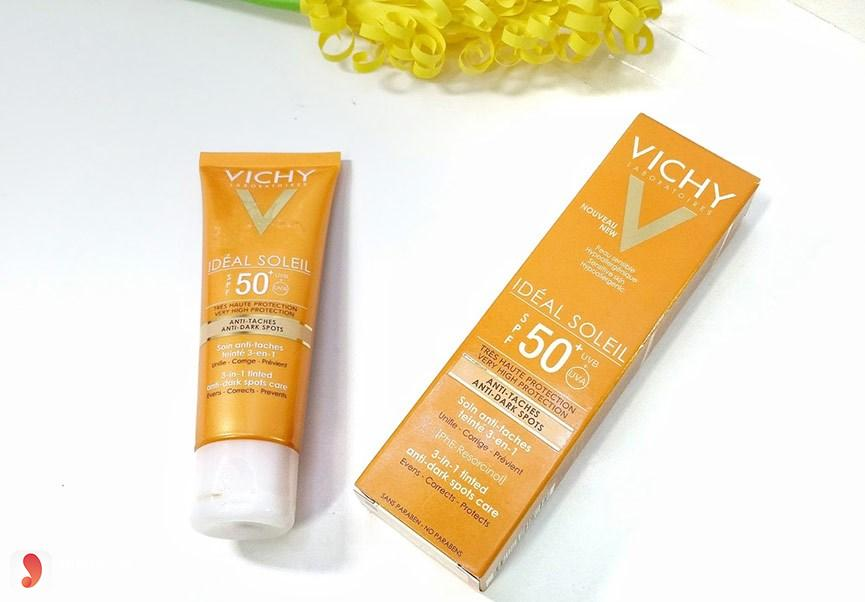 Kem chống nắng Vichy Ideal Soleil 3 in 1