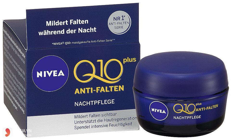 Kem dưỡng ẩm Nivea Q10 Plus Antil –Fallen