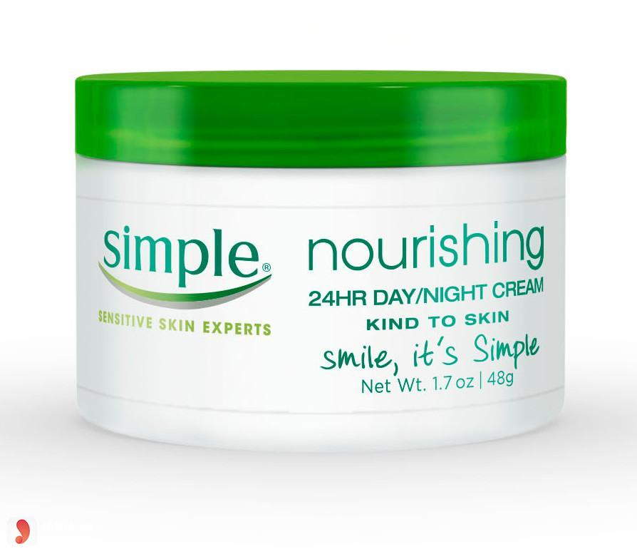 Kem dưỡng ẩm Simple Nourishing 24 Hr Day And Night 1.7 O.z