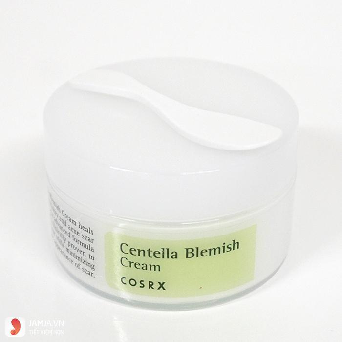 Kem dưỡng ẩm Cosrx Centella Blemish Cream cho da mụn