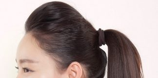 tóc mái hợp với khuôn mặt tròn trán ngắn