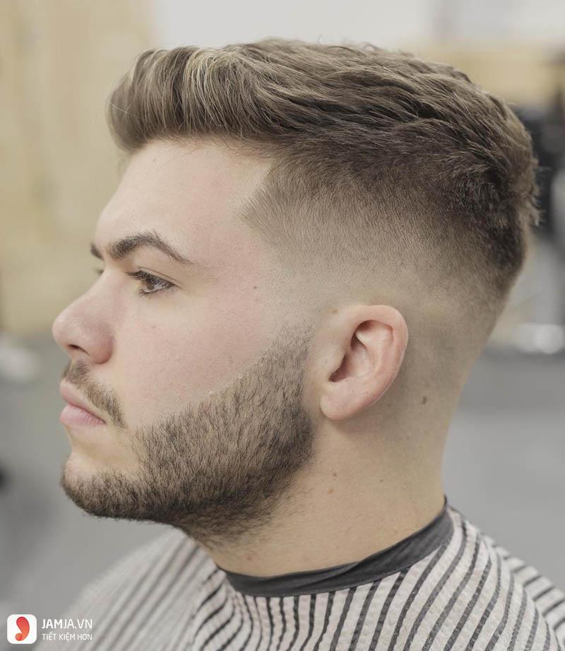 kiểu tóc undercut của tuấn hưng 16