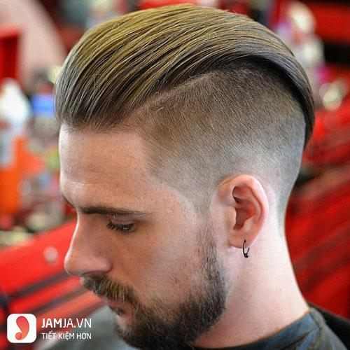 kiểu tóc undercut của tuấn hưng 9