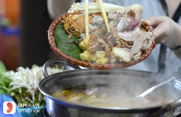 Quán lẩu mẹt cua đồng Phan Bội Châu Hà Nội - 4