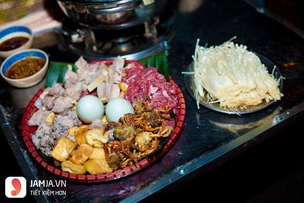 Lẩu cua đồng Hà Nội - Zôm quán