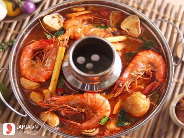 cách nấu lẩu hải sản kiểu Thái-4