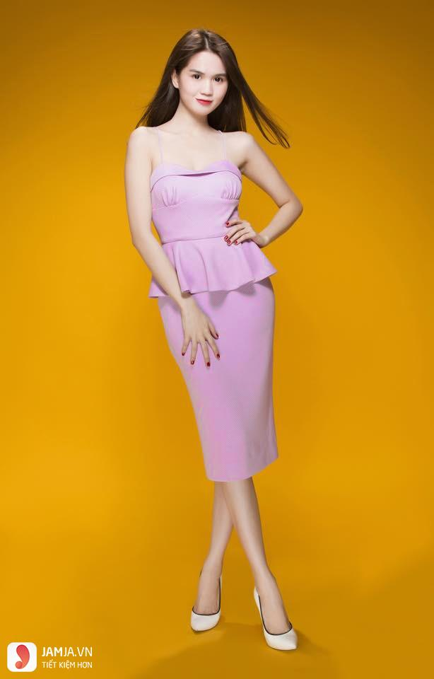 Mẫu áo mặc với chân váy - 3