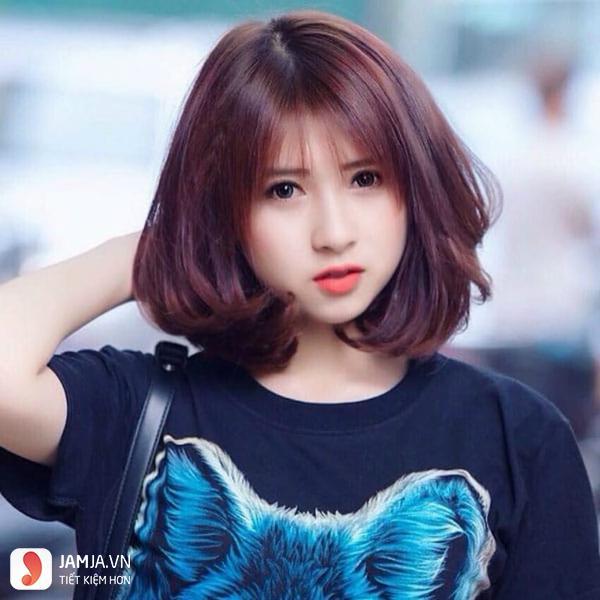 màu tóc nâu đỏ tôn da