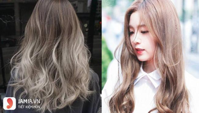 màu tóc ombre tôn da