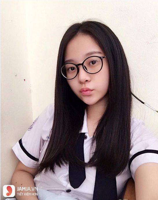 Những kiểu tóc đẹp cho học sinh nữ cấp 2 - 11