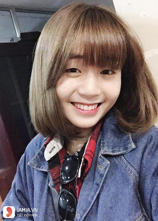 Những kiểu tóc đẹp cho học sinh nữ cấp 2 - 5