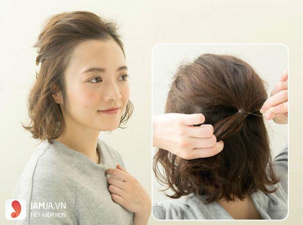 Những kiểu tóc đẹp cho học sinh nữ cấp 2 - 6