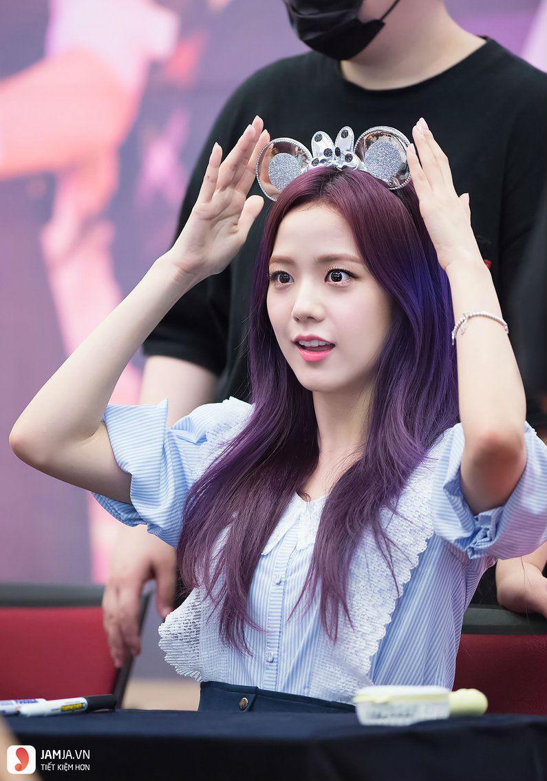 nhuộm tóc màu tím trầm2