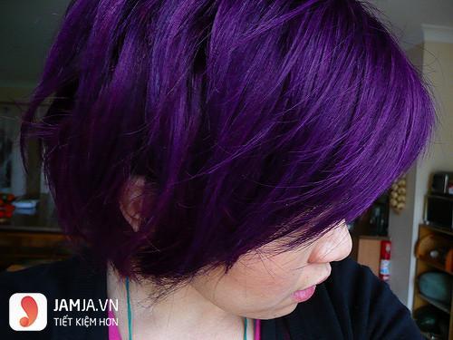 Các mẫu tóc nhuộm màu tím trầm đẹp2