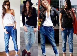 cách phối đồ với quần baggy jeans
