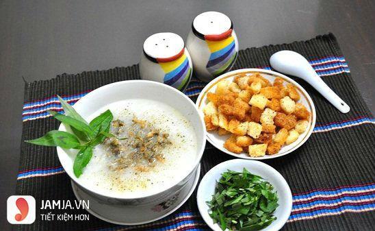 Quán ăn ngon ở Hà Nội vào buổi tối-cháo trai